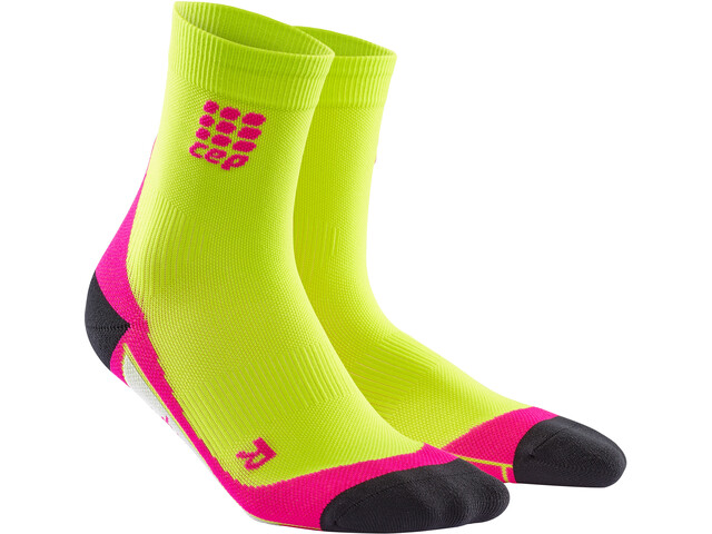 cep Dynamic+ Calcetines cortos Mujer, lime/pink